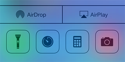 airdrop-in-control-center