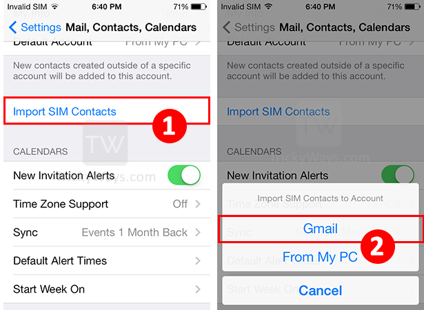 how to sync iphone contacts to gmail transfer sim contacts from iphone to gmail account 1354