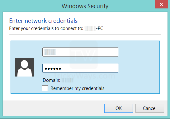 enter-network-credentials