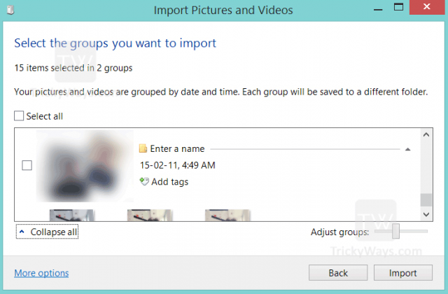 select-pictures-and-videos-you-want-to-import-windows-8