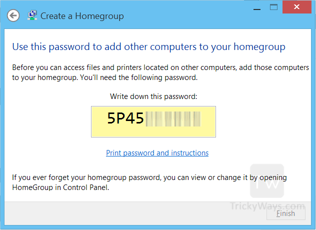 homegroup-password