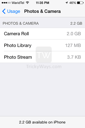 storage-used-by-photos-and-camera-iphone-ios7