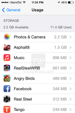 used-and-available-storage-on-iphone-ios7