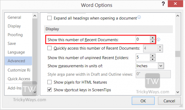 change-number-or-recent-document-to-display-in-word