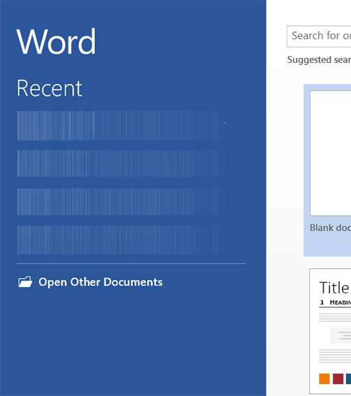 delete or hide recent documents list in microsoft word With microsoft recent documents list