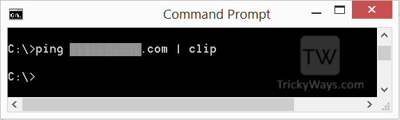 ping-command-output-to-clipboard-clip-command