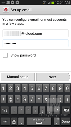 icloud-email-on-android