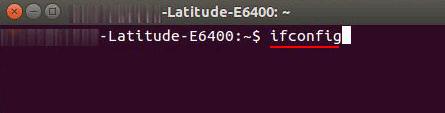 ifconfig-ubuntu