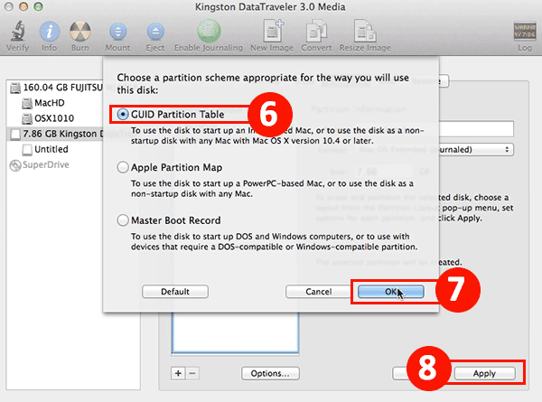 How to Make OS X Yosemite Installer USB Drive – Mac OS X