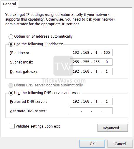 ipv4-settings