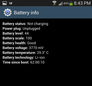 android battery health