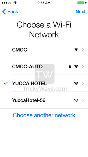 choose-a-wifi-network