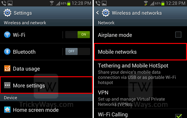 mobile-network-mode