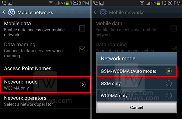 network-mode