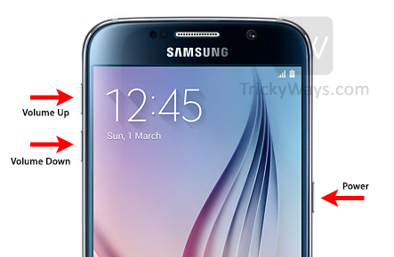 factory reset galaxy s6