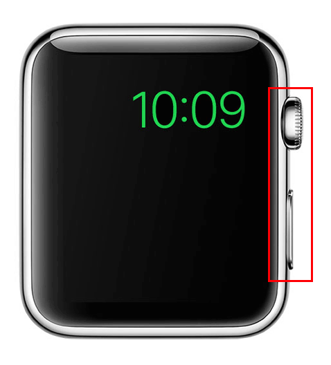 hard reset apple watch