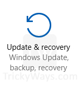 update-and-recovery-windows-10