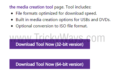 download windows media creation tool