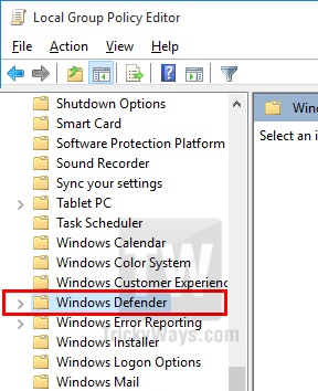 windows defender this program is blocked by group policy windows 7