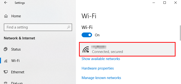 setting up metered connection windows