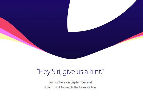 apple live event september 2015