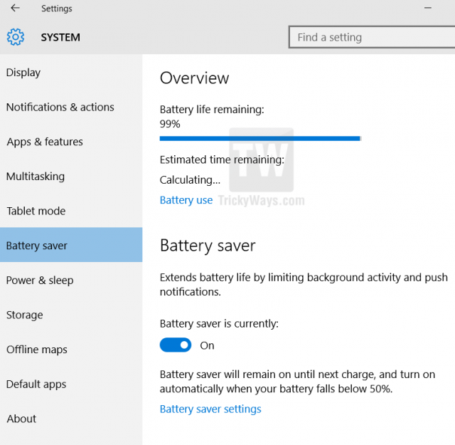 How to Maximize Battery Life Windows 10