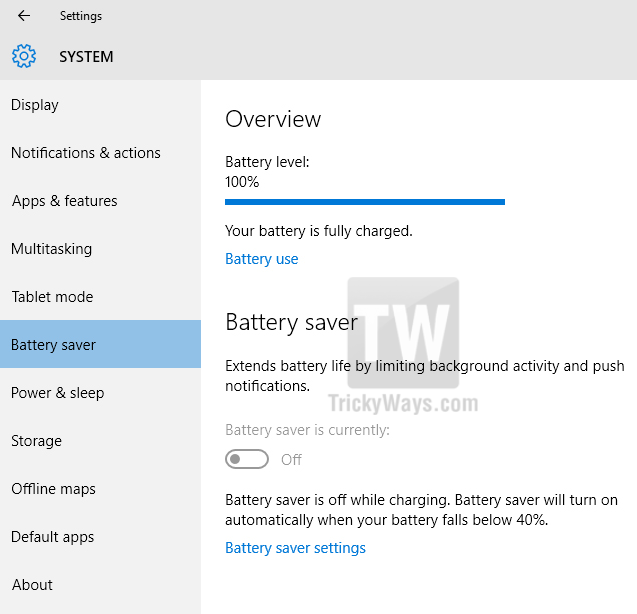 windows-10-battery-saver