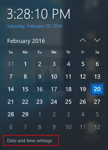 date-and-time-settings-windows-10