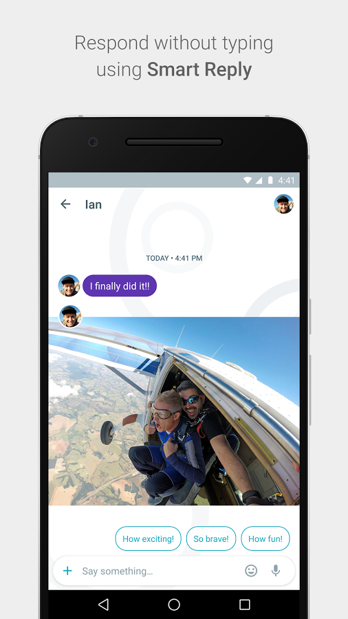 google allo answer without typing