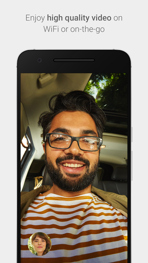 google duo hight quality video calling