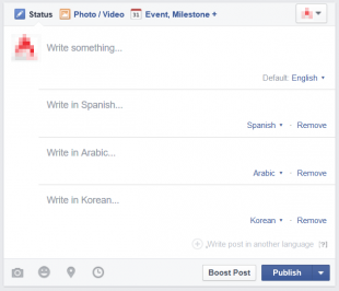 write-post-in-multiple-language-facebook-page