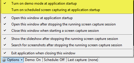 capture screen automatically