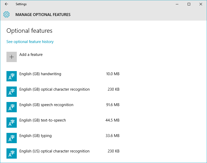 Install Graphic Tools in Windows 10