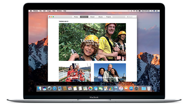 macos seirra photos