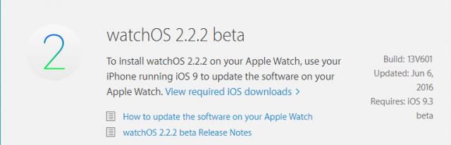 watchos 2.2.2 beta