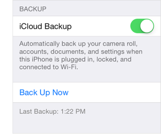 How to Backup your iPhone, iPad or iPod Touch