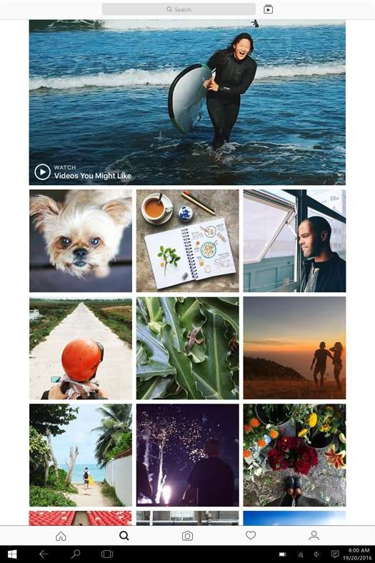 Instagram Officially announced for windows 10