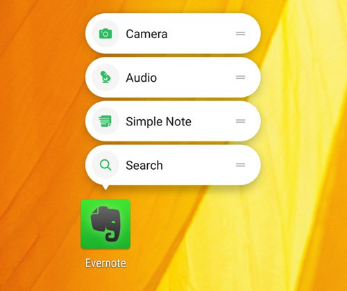 How to use App Shortcut Feature in Nougat 7.1