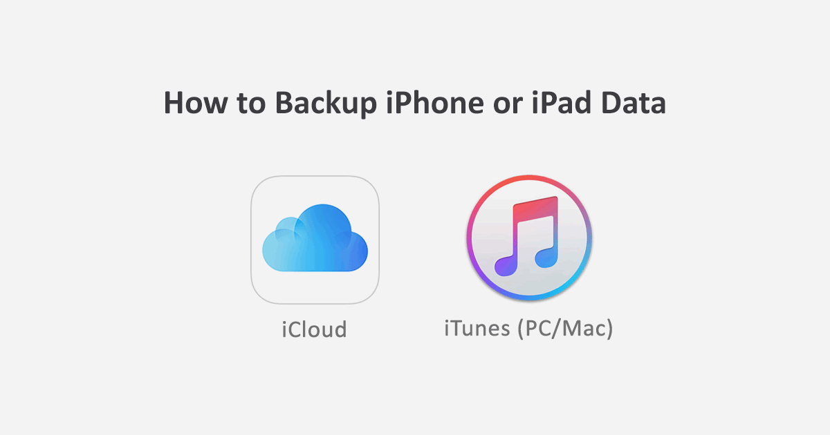 how to save data on iphone how to backup your iphone or to icloud itunes 19048