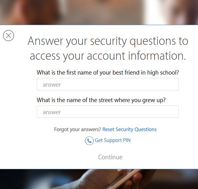 forgo id password