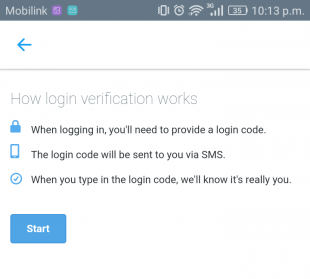 protect twitter account with login verification