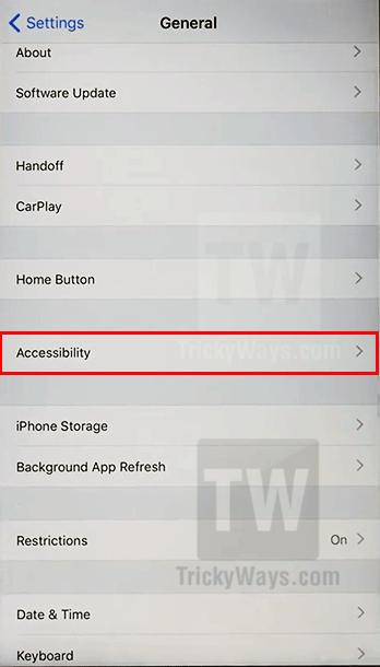 ios 11 accessibility