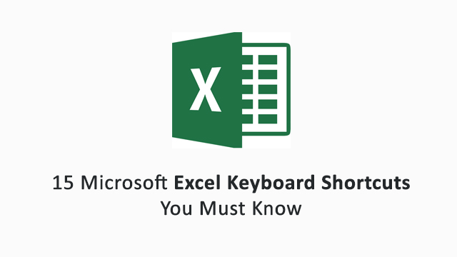15-Microsoft-Excel-shortcuts-to-become-spreadsheet-master