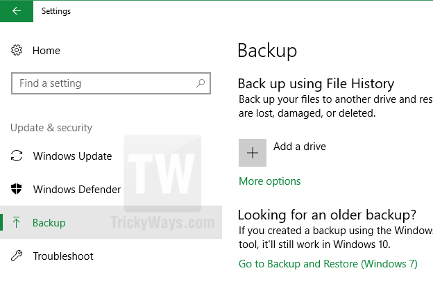 windows 10 settings backup