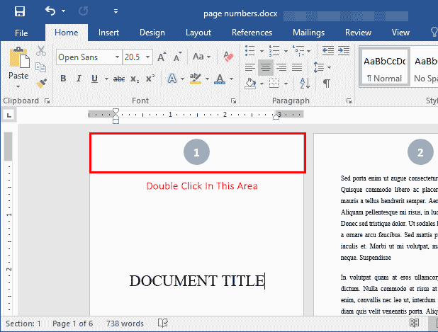 modify-header-word-document