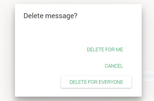 delete for everyone whatsapp message