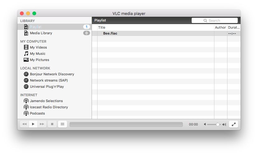 play flac file macos