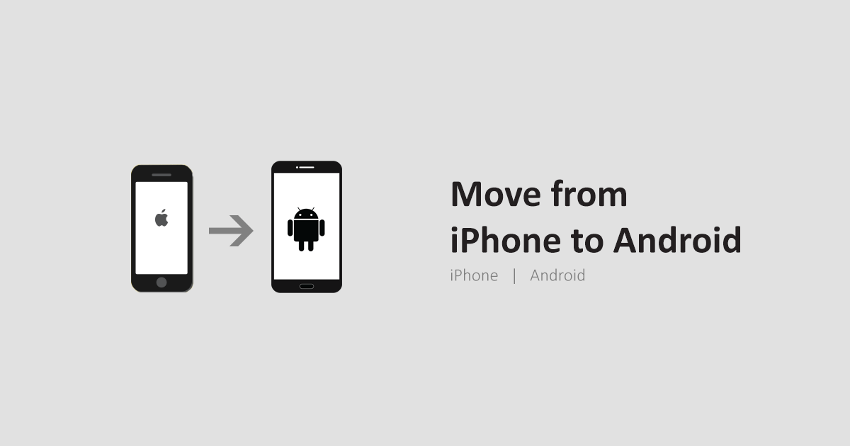 move from iphone to android phone