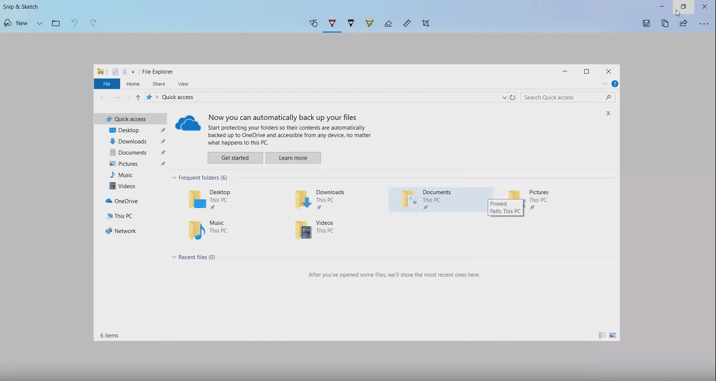 sketching-options-snip-and-sketch-Windows-10