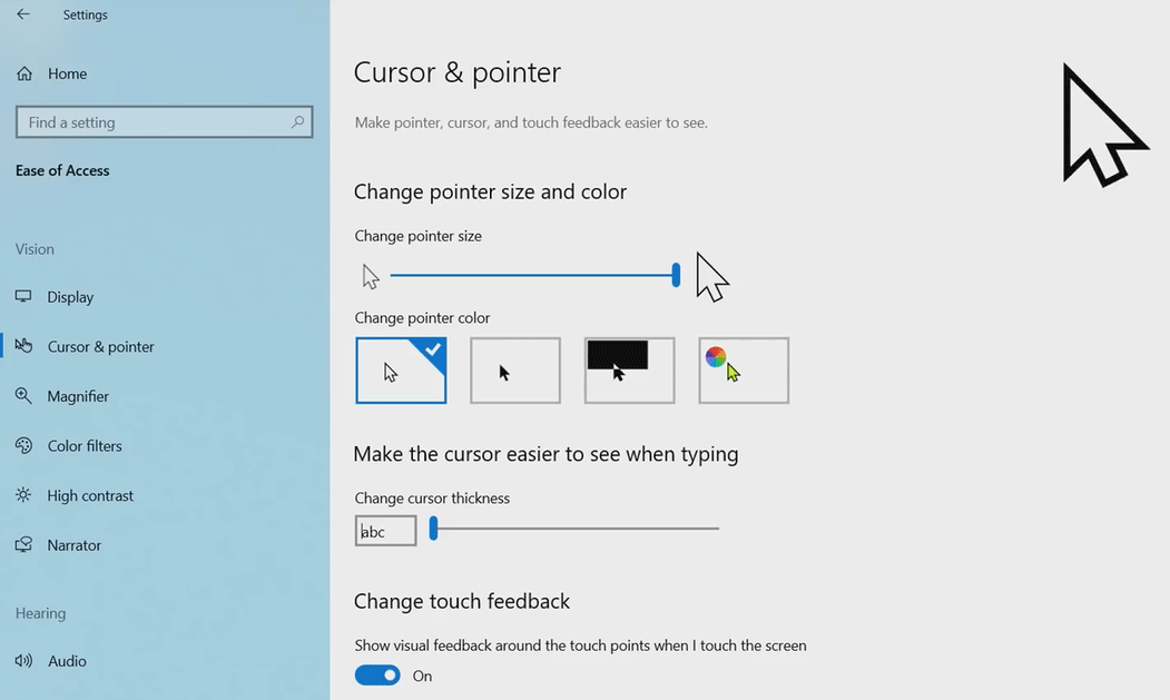 windows-10-cursor-&-pointer-update-april-2019